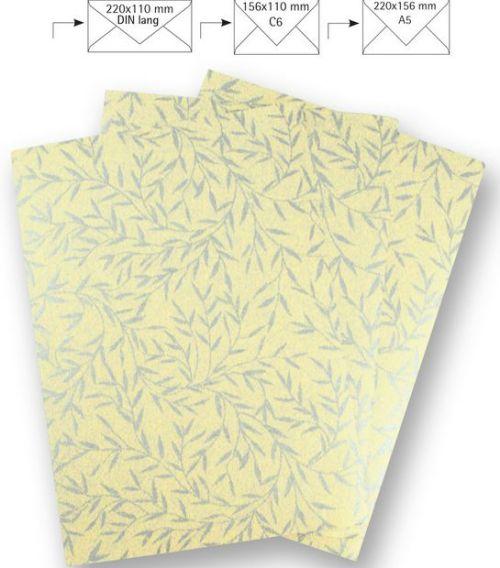 - Ръчна японска копринена хартия -пакет 10 бр А4