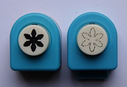 Nellie Snellen Mini SET - Комплект ембос пънч + пънч FLP035