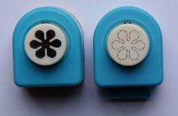Nellie Snellen Mini SET - Комплект ембос пънч + пънч FLP034 -1cm.