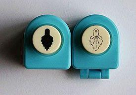 Nellie Snellen Mini SET  - Комплект ембос пънч + пънч FLP024