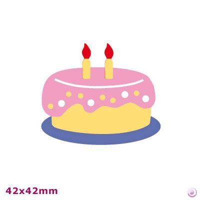 BIRTHDAY ARTEMIO DIE CUT - Щанци за изрязване CAKE
