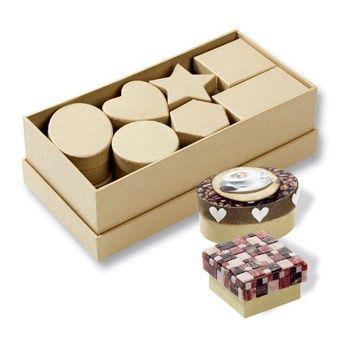 CRAFTBOX SET - Комплект 15 кутии за декорация Folia,Germany