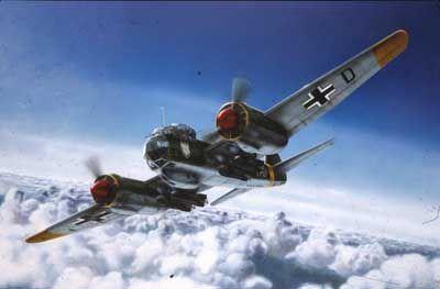 REVELL  -1/72 Junkers JU 88 A4/D1
