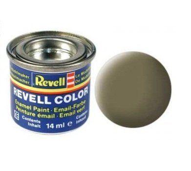 Емайл боя Revell - тъмно зелено мат 139