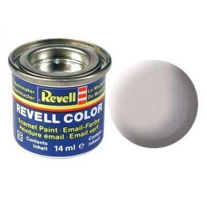 Емайл боя Revell  - сиво мат 143