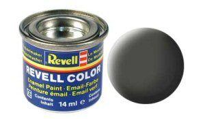 Емайл боя Revell - бронзово зелено мат 165