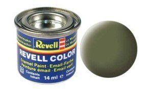 Емайл боя Revell - стандарт тъмно зелено мат 168