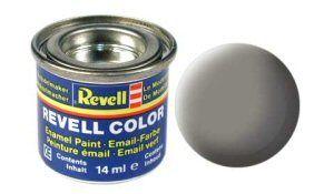 Емайл боя Revell - каменно сиво мат 175