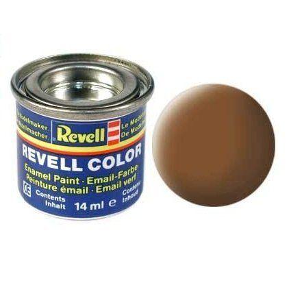Емайл боя Revell - тъмноземен мат 182