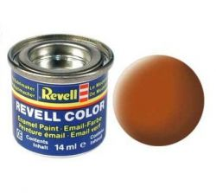 Емайл боя Revell - кафяво мат 185