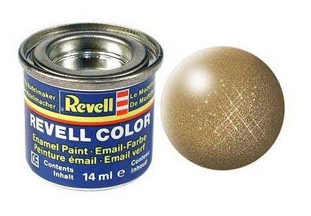 Емайл боя Revell - месингово металик 192