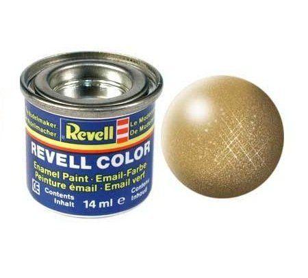 Емайл боя Revell - златно металик 194