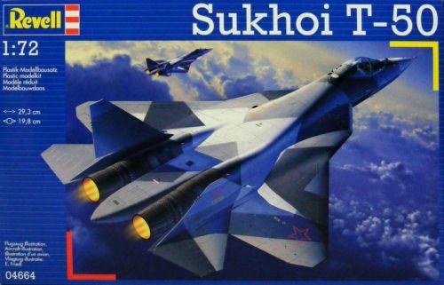 REVELL  - 1/72 SUKHOI  T-50