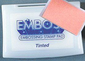 EMBOSS PAD TINTED - Tампон за топъл ембосинг оцветен