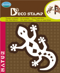 ALADINE DECOSTAMP for HOME DECOR - 12 x 12 cm.