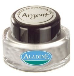 ALADINE CALLIGRAPHY Ink - Калиграфско мастило SILVER