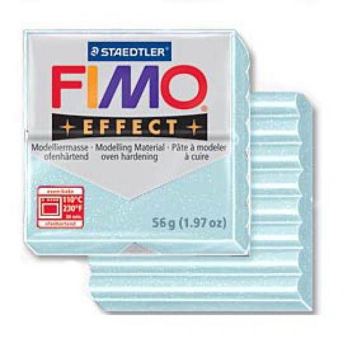 FIMO EFFECT - ПОЛИМЕРНА ГЛИНА Blue ice quartz 306
