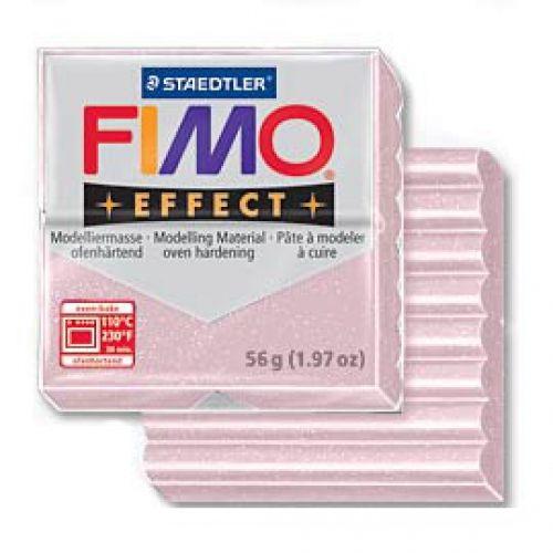 FIMO EFFECT - ПОЛИМЕРНА ГЛИНА Rose quartz 206